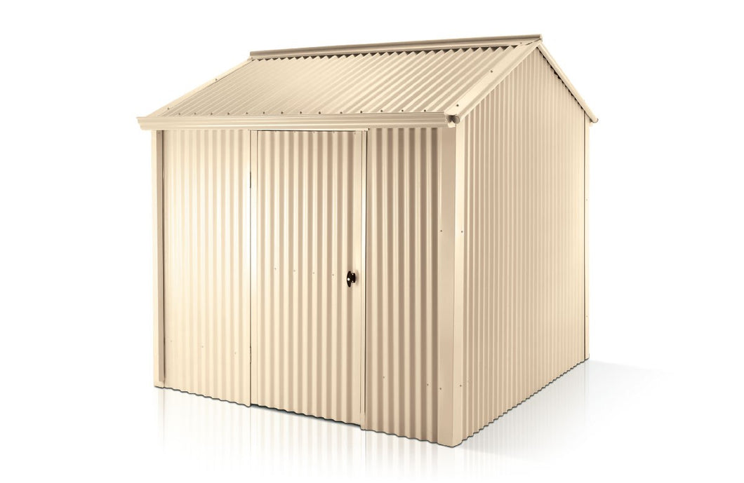3.30 x 3.30 x 1.95-2.3 Premium Shed single Door Supplied, Delivery and installation