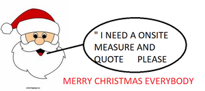 REQUEST A ONSITE MEASURE AND QUOTATION