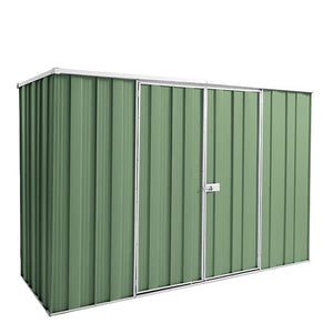 2.8 x 1.07 x 1.8 Flat Roof Double Door Zinc-Colour Supplied, Delivery and installation
