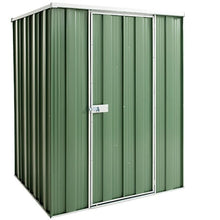 Load image into Gallery viewer, 1.41 x 1.41 x 1.8 Flat Roof Gardenshed Zinc-Colour Supplied, Delivery and Installation