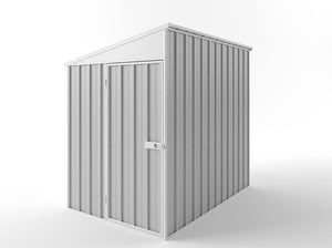 1.5 x 2.25 x 1.8-2.1 Skillion Roof Hinged door Zinc/Colour Supplied, Delivery and installation