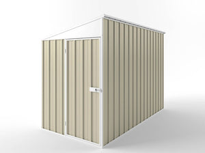 1.5 x 3.0 x 1.8-2.1 Skillion Roof Zinc/Colour Hinged door Supplied, Delivery and installation