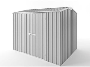 3.0 x 2.25 x 1.8-2.05 gable Zinc/Colour  with option Extra tall option Supplied, Delivery and installation