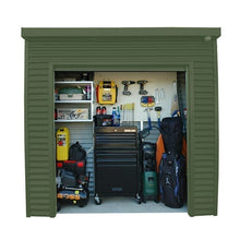 Load image into Gallery viewer, 2.4 x 0.8 x 2.35 Premium shed Roller Door Supplied, Delivery and installation