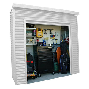 2.4 x 0.8 x 2.35 Premium shed Roller Door Supplied, Delivery and installation