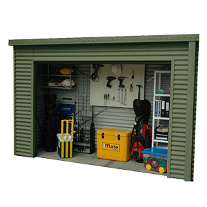 3.65 x 1.1 x 2.34 Premium Shed Roller Door Supplied, Delivery and Installation