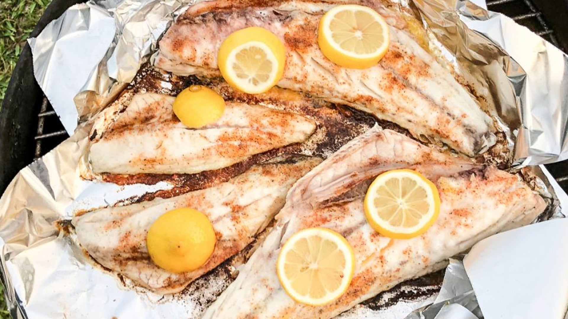 Redfish Half Shell Recipe