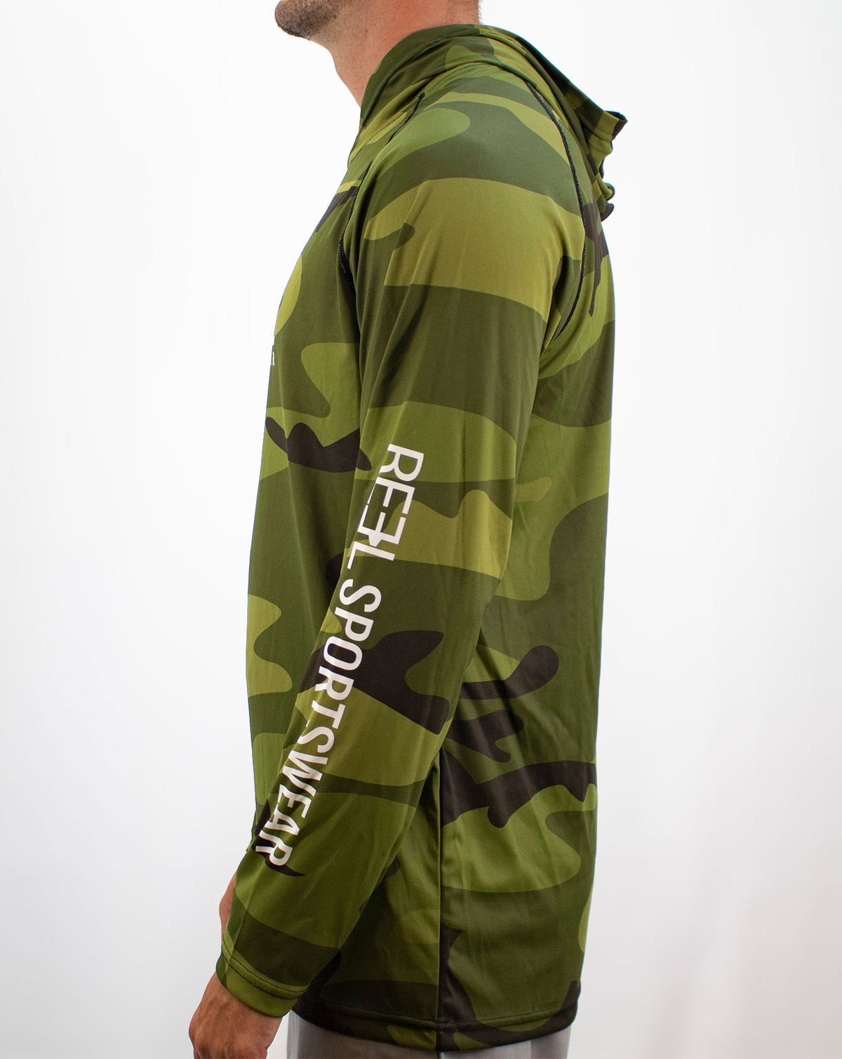 Camo Fishing Hoody
