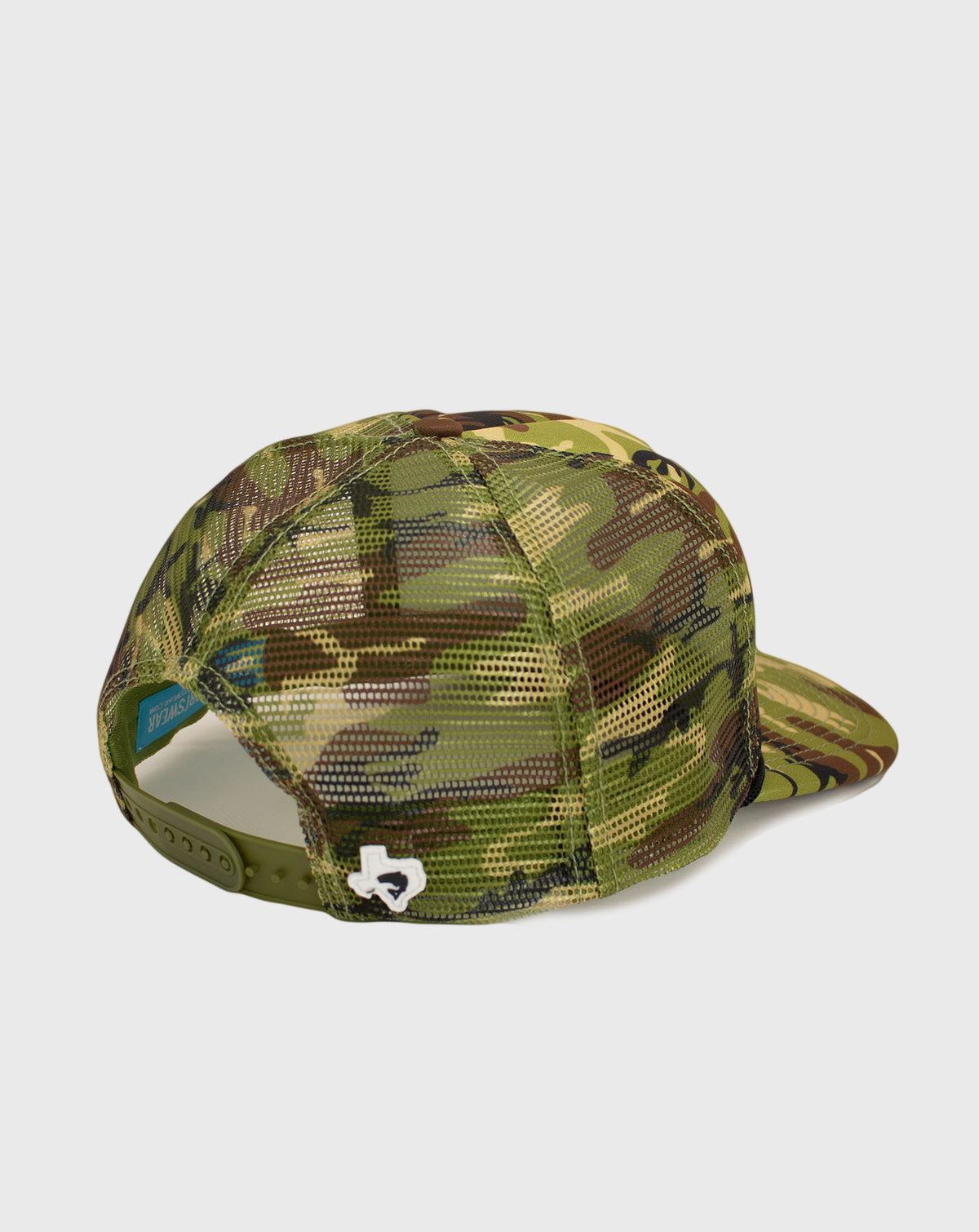 Camo Dude Trucker Fishing Cap