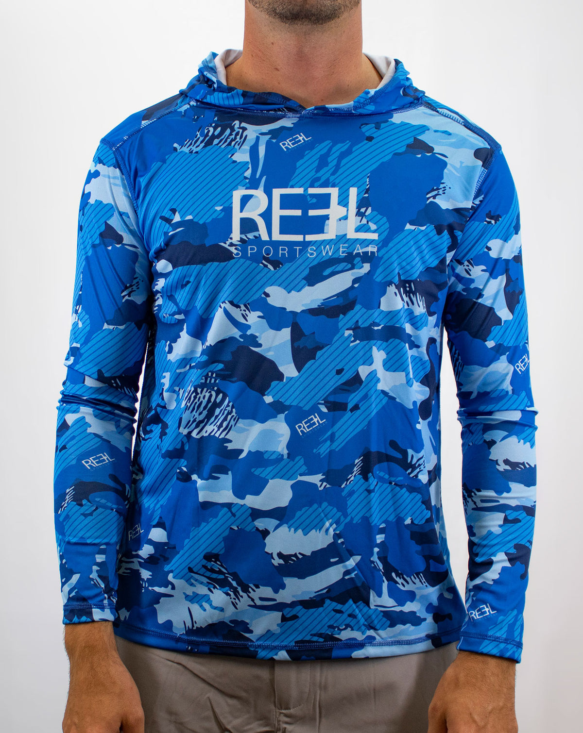 Pursuit Fishing Hooded Long Sleeve Shirt | Reel Sportswear