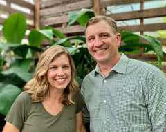 Joey and Kim, Owners of The Kerby's Houseplant Shop