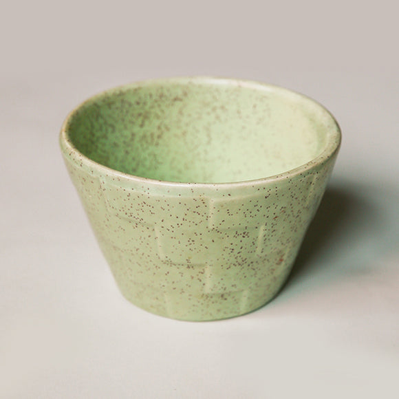 Vintage Planter - Speckled Mint