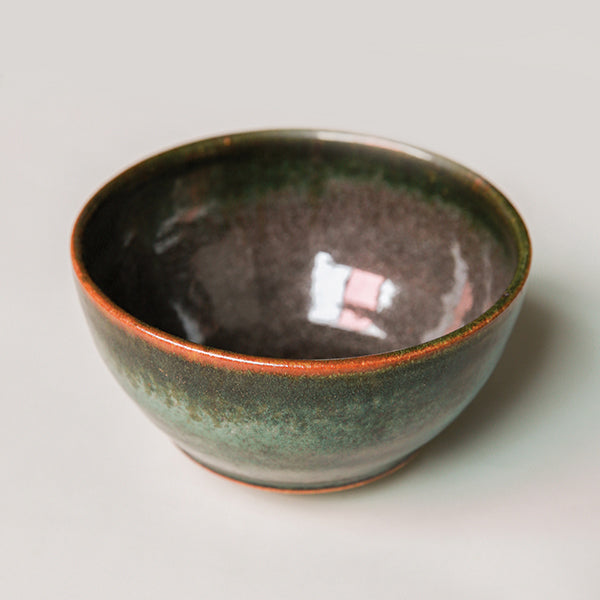 Vintage Planter - Glazed Bowl