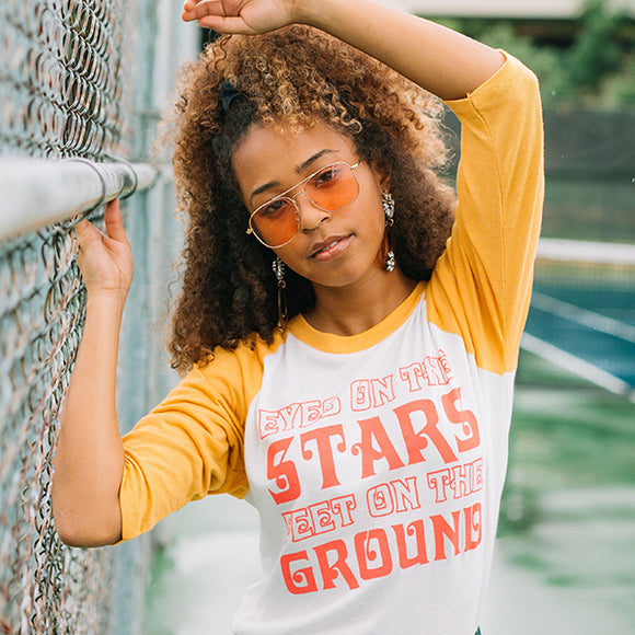 Eyes On The Stars Raglan Tee