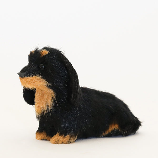 Plush Dachshund Ornament - Pigment