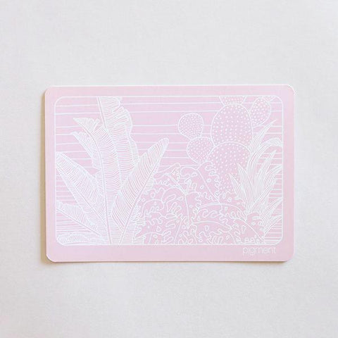 Tropical Postcard - Pink