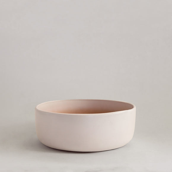 Ceramic Bowl - Matte White - Pigment