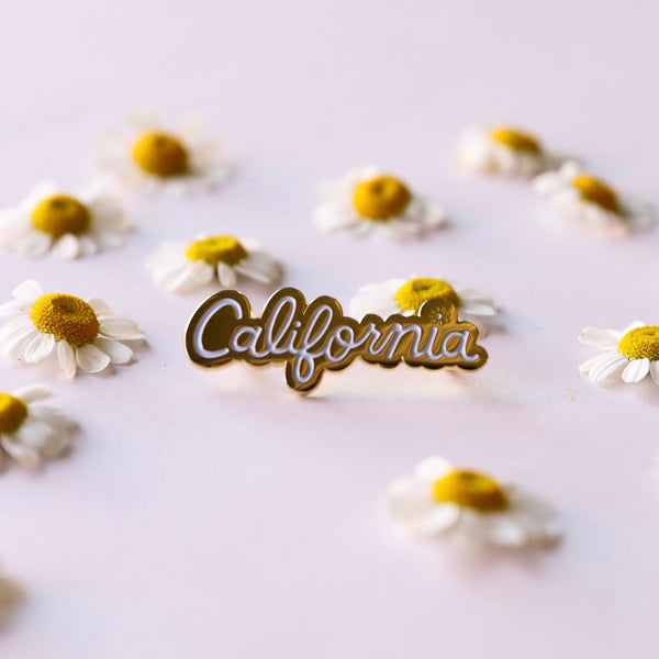 California Enamel Pin - Pigment