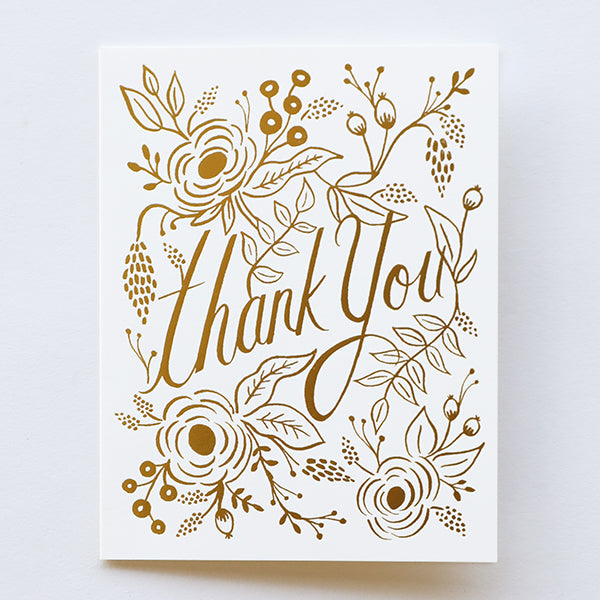 Marion Thank You Card - Pigment