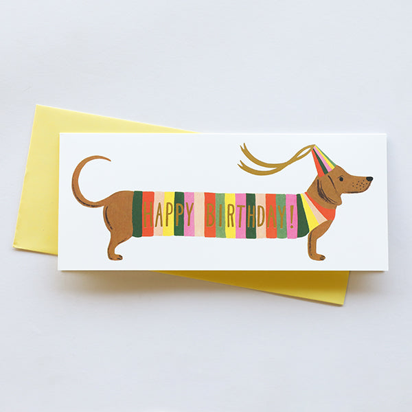 Hot Dog No. 10 - Birthday Card - Pigment