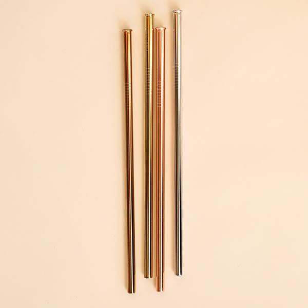 Reusable Straw Set - Half Moon - Pigment