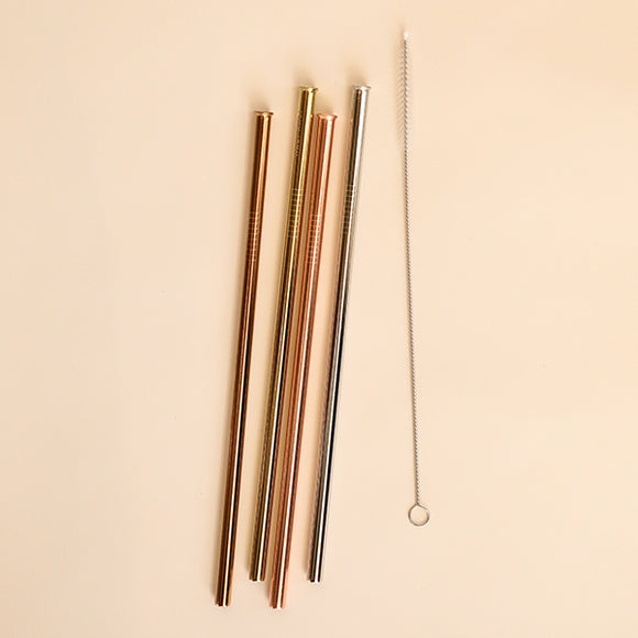Reusable Straw Set - Dappled - Pigment