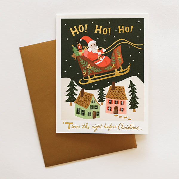 Christmas Delivery Card - Pigment