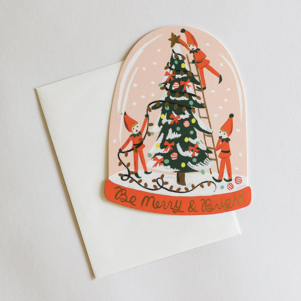Merry Elves Card - Pigment