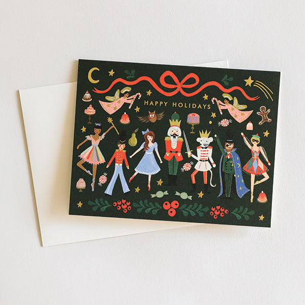 Nutcracker Ballet Card - Pigment