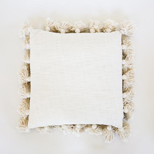 Tassel Pillow - Natural - Pigment