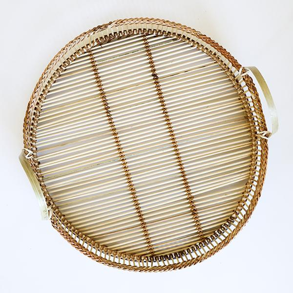 Bamboo Tray with Handles - Pigment