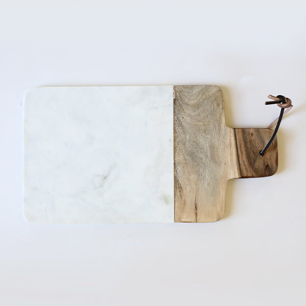 Marble Wood Mango Cutting Board - Pigment