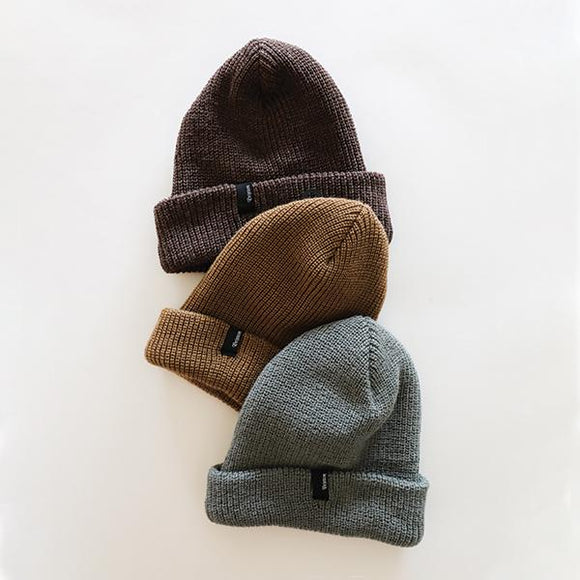 Heist Beanie - Heather Bison - Pigment