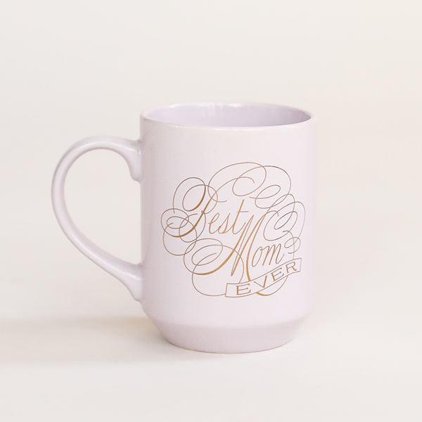 Script Best Mom Ever Ny Mug - Pigment