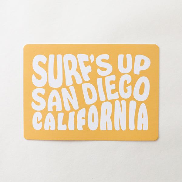 Surf's Up Postcard - Pigment