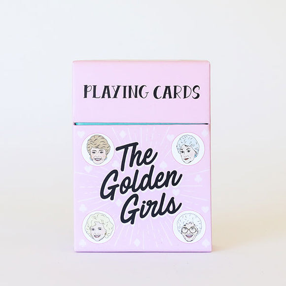 Golden Girls Playing Cards - Pigment
