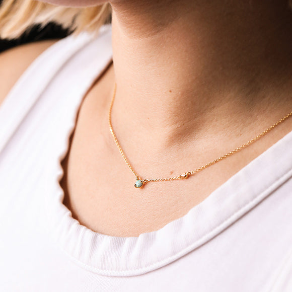 Mini Opal Necklace
