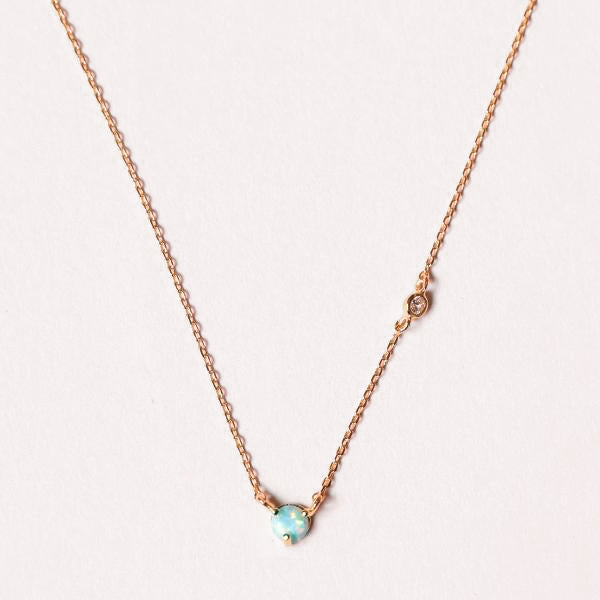 Mini Opal Necklace - Pigment