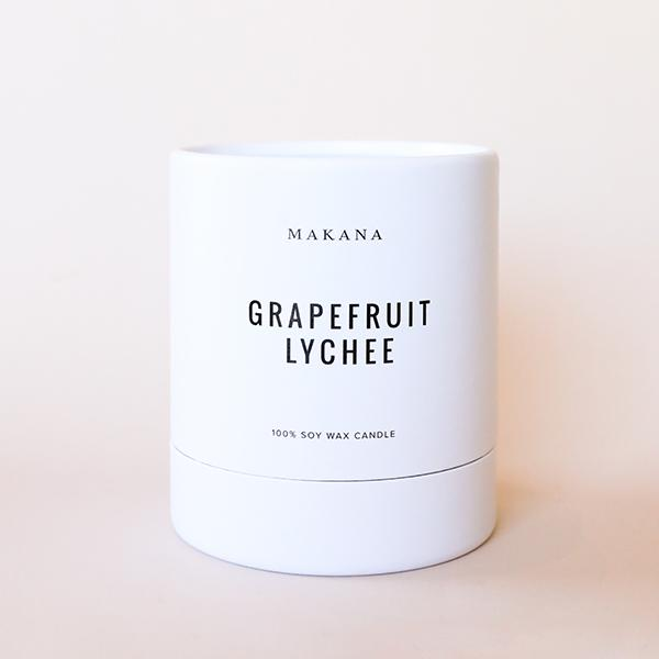 Grapefruit Lychee Candle