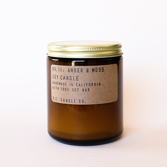 Amber & Moss Soy Candle - Pigment