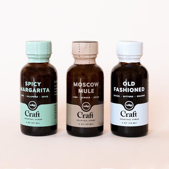 Cocktail Syrup Set - Pigment