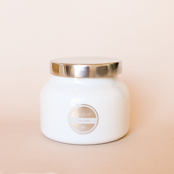 Petite Jar Candle - Volcano White