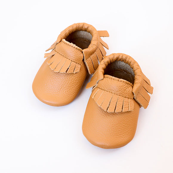 Ginger Baby Moccasins