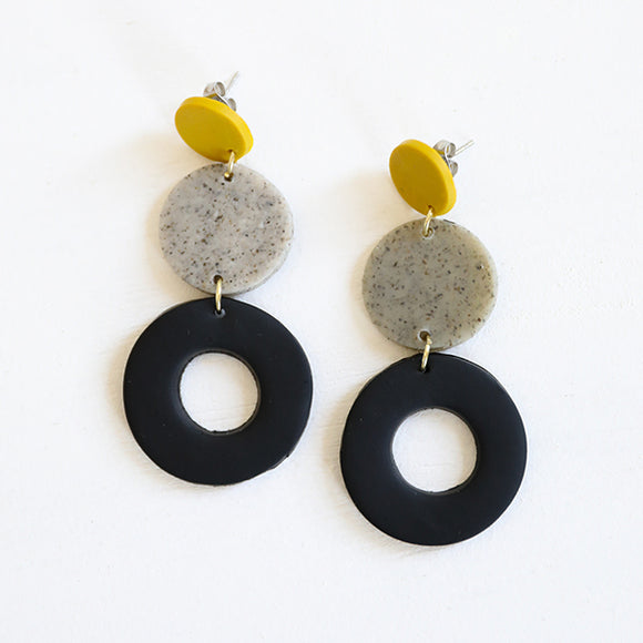 Lisa Earrings - Pigment