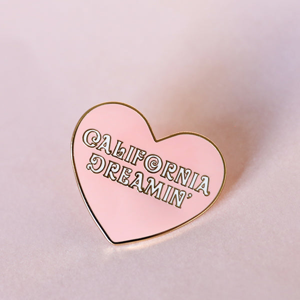 California Dreamin' Enamel Pin - Pigment