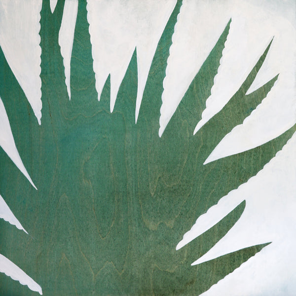 Amy Paul - Blue Aloe II - Pigment