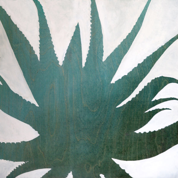 Amy Paul - Blue Aloe I - Pigment