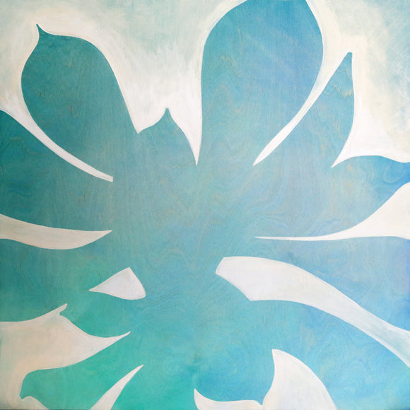 Amy Paul - Blue Echeveria I - Pigment