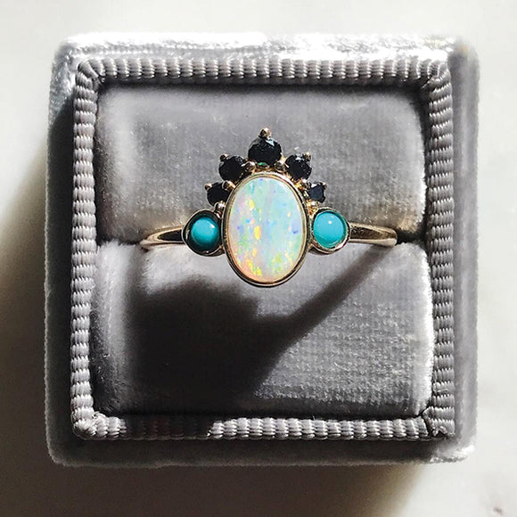 Gypset Opal Headdress