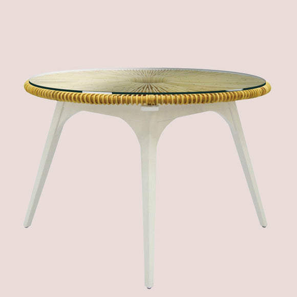 Clemente Round Dining Table - Pigment